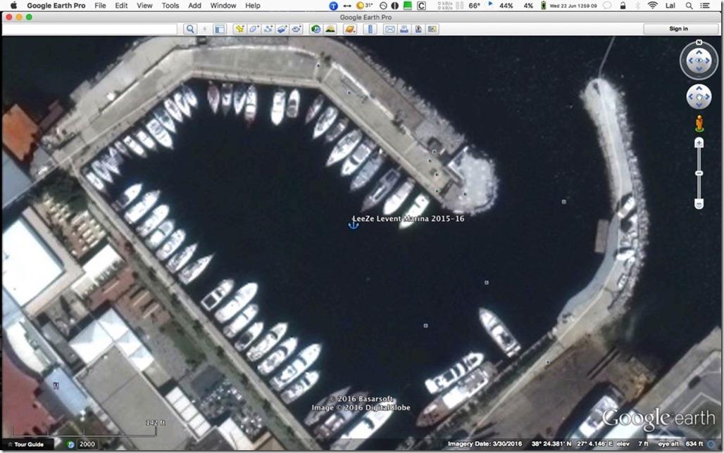 George Buehler Trawler in Izmir > Levent Marina