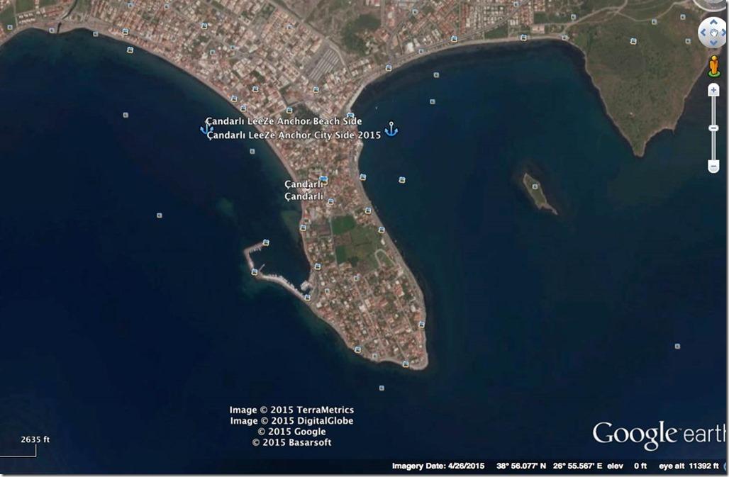 Diesel Duck Trawler LeeZe in Çandarli > Anchorages