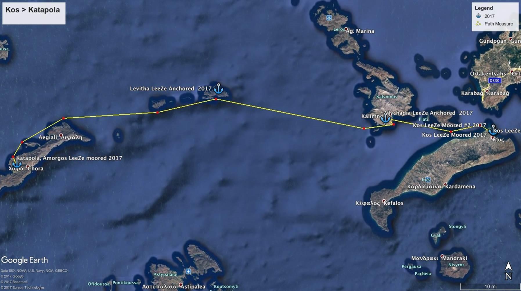 George Buehler Trawler in Kos > Katapola