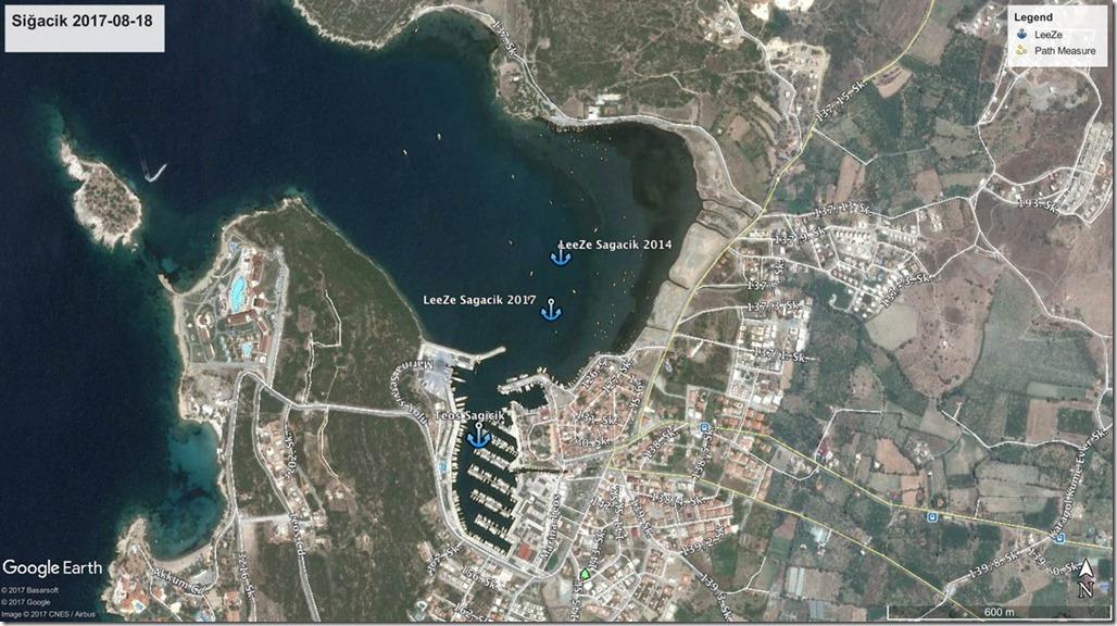Diesel Duck Trawler LeeZe in Kusadasi>Sağacik