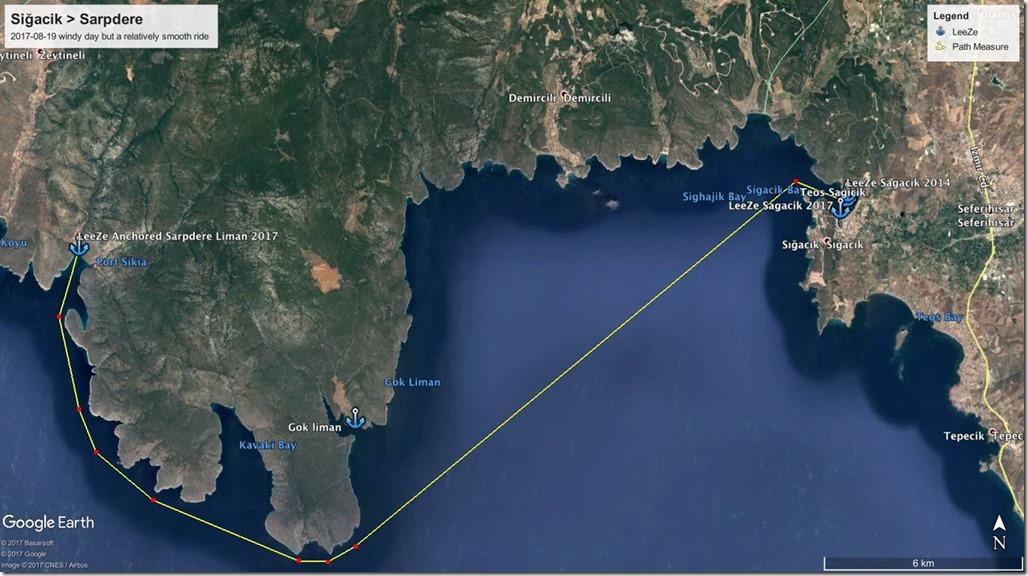 Diesel Duck Trawler LeeZe in Sağacik>Sarpdere