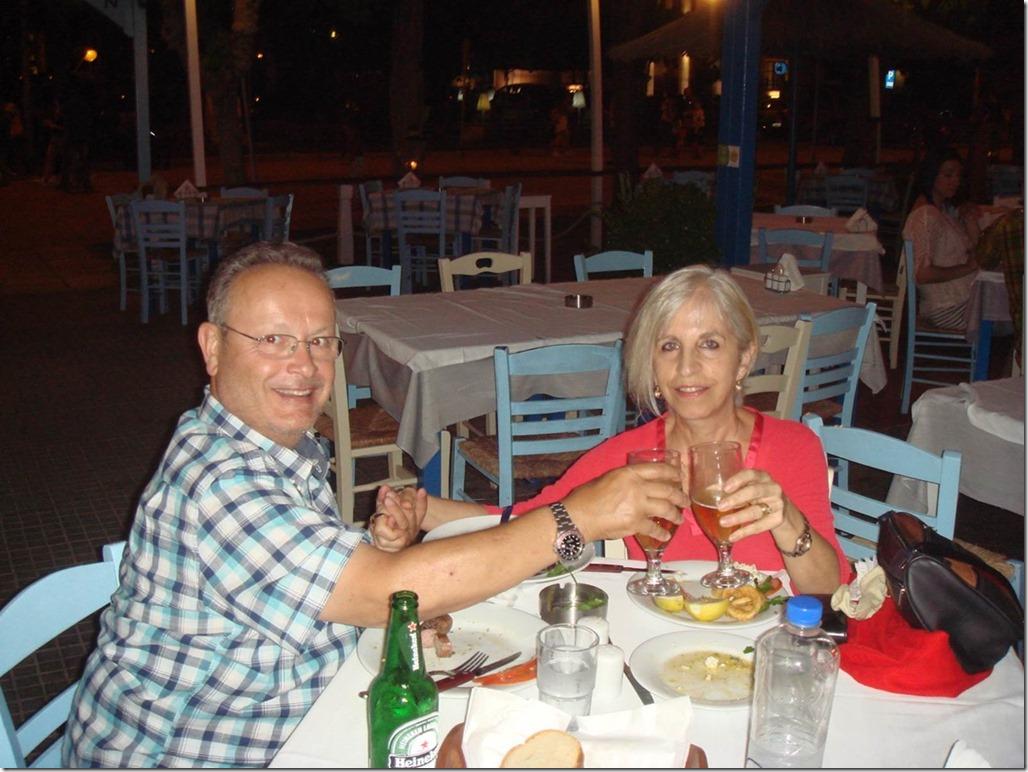 Dinner in Kavala
