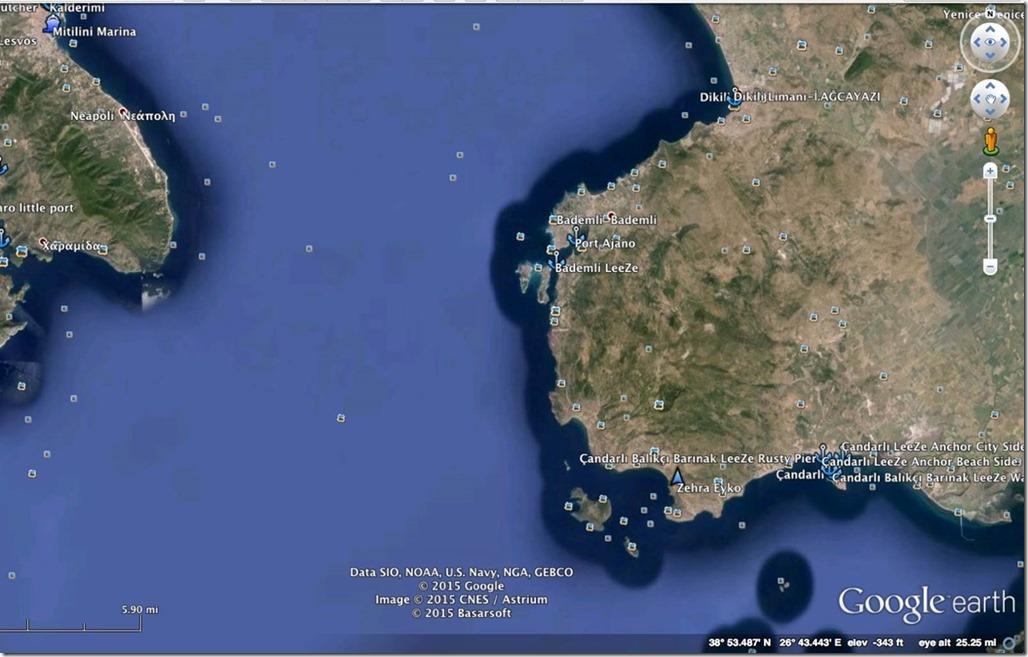 George Buehler Trawler in Mytillini > Çandarli, Tu,