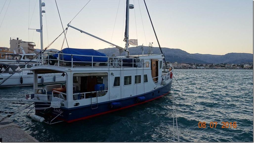 George Buehler Trawler in Izmir