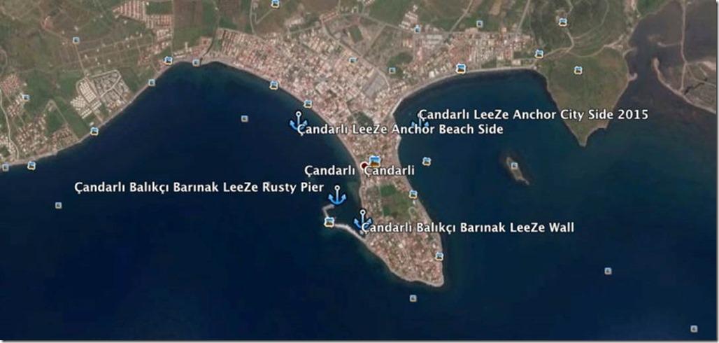 George Buehler Trawler in Mytillini > Anchorages in Çandarli,
