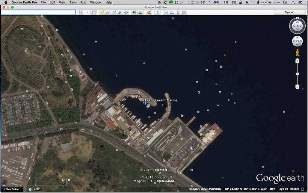 Diesel Duck LeeZe in Levent Marina