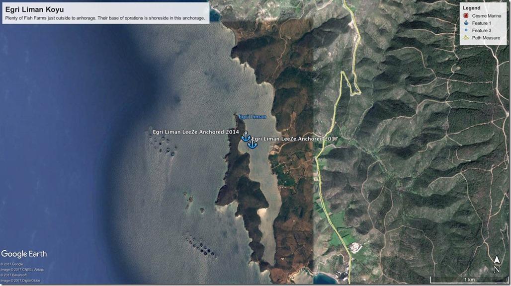 Diesel Duck Trawler LeeZe in Egri Liman Koyu