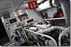 LeeZe Engine Room looking forward