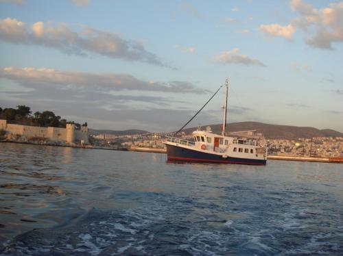 Anchored in Kusadasi